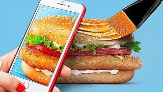 Еда в рекламе vs в реальной жизни