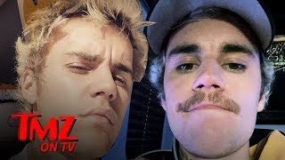 Justin Bieber FINALLY Shaves Off His Mustache | TMZ TV