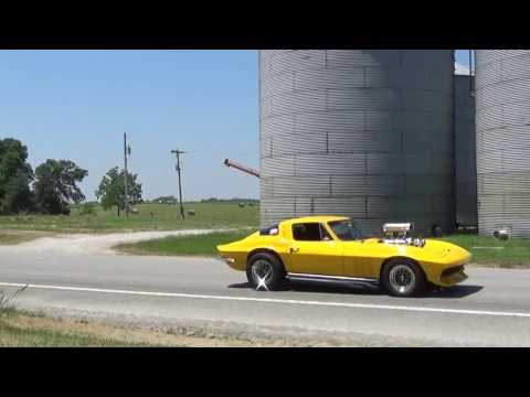 Hot Rod Power Tour~Lineville IA/MO June 11th 2017~Short clips:  }~