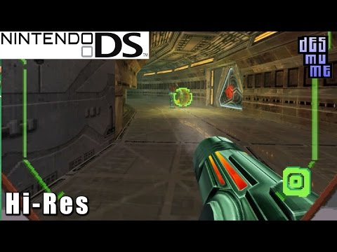 Metroid Prime Hunters - Nintendo DS Gameplay High Resolution (DeSmuME)