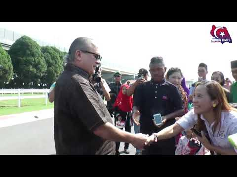 Majlis Rumah Terbuka DYMM Sultan Ibrahim Sultan Iskandar Di Istana Pasir Pelangi