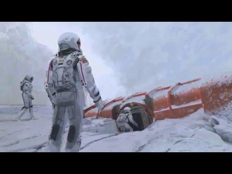 Shooting in Iceland Interstellar Making