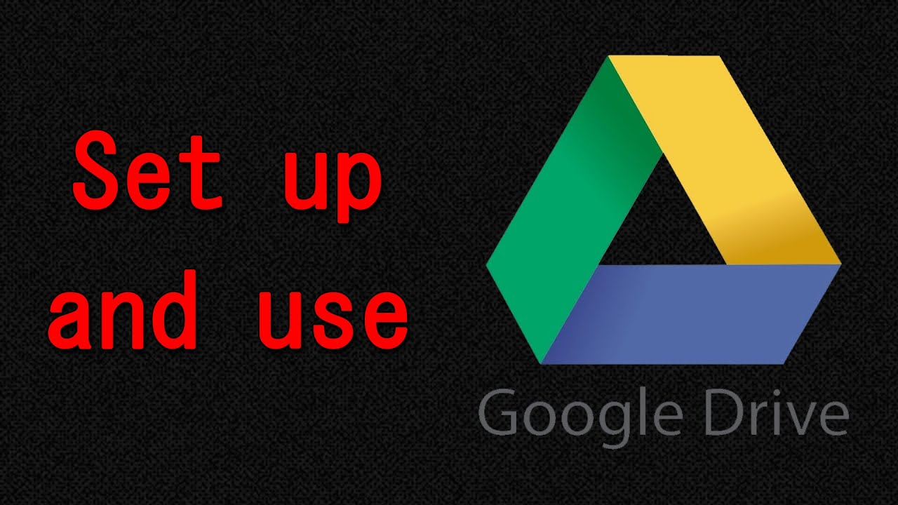 how to use google drive youtube