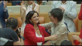 Concha Andreu es elegida presidenta de La Rioja