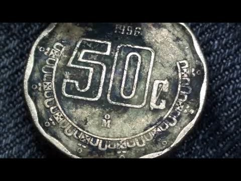 Mexican 50 Centavos Recent Find While Coin Hunting Youtube