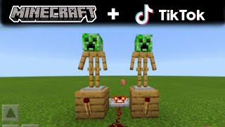 MINECRAFT Tik Tok COMPENDIUM !! #3 (Funny Videos)