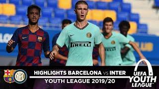 BARCELONA 0-3 INTER | U19 HIGHLIGHTS | What a win at the Estadi Johan Cruyff! | UEFA Youth League