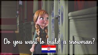 [DVD Quality] Frozen - Do you want to build a snowman (Croatian)