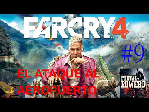 FAR CRY 4 DE PS4 EL ATAQUE AL AEROPUERTO #9 A 1080P HD