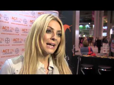 Strictly Come Crufts – Tess Daly visits as world's largest dog show celebrates 125th anniversary