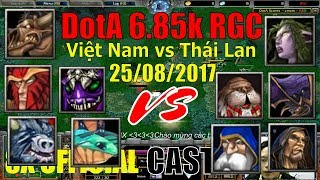 DotA - Việt Nam vs Thái Lan - DotA 1 Gameplay 25/08/2017