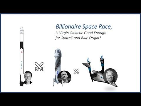 Billionaire Space Race, Can Virgin Galactic challenge SpaceX & Blue Origin?
