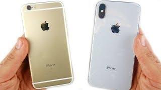 iPhone 6S vs iPhone X: Full Comparison