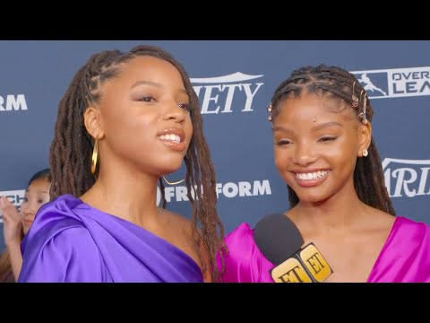 Halle Bailey just responded to The Little Mermaid's Ariel casting backlash, and she's so badass