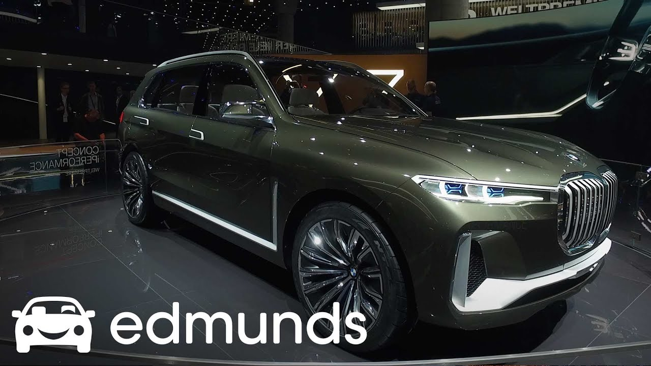 Bmw Concept X7 Iperformance Frankfurt Auto Show Debut Edmunds