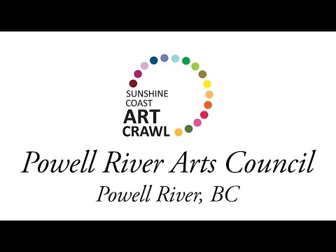 Powell River Arts Council at Henderson House Living Museum - Sunshine Coast Art Crawl