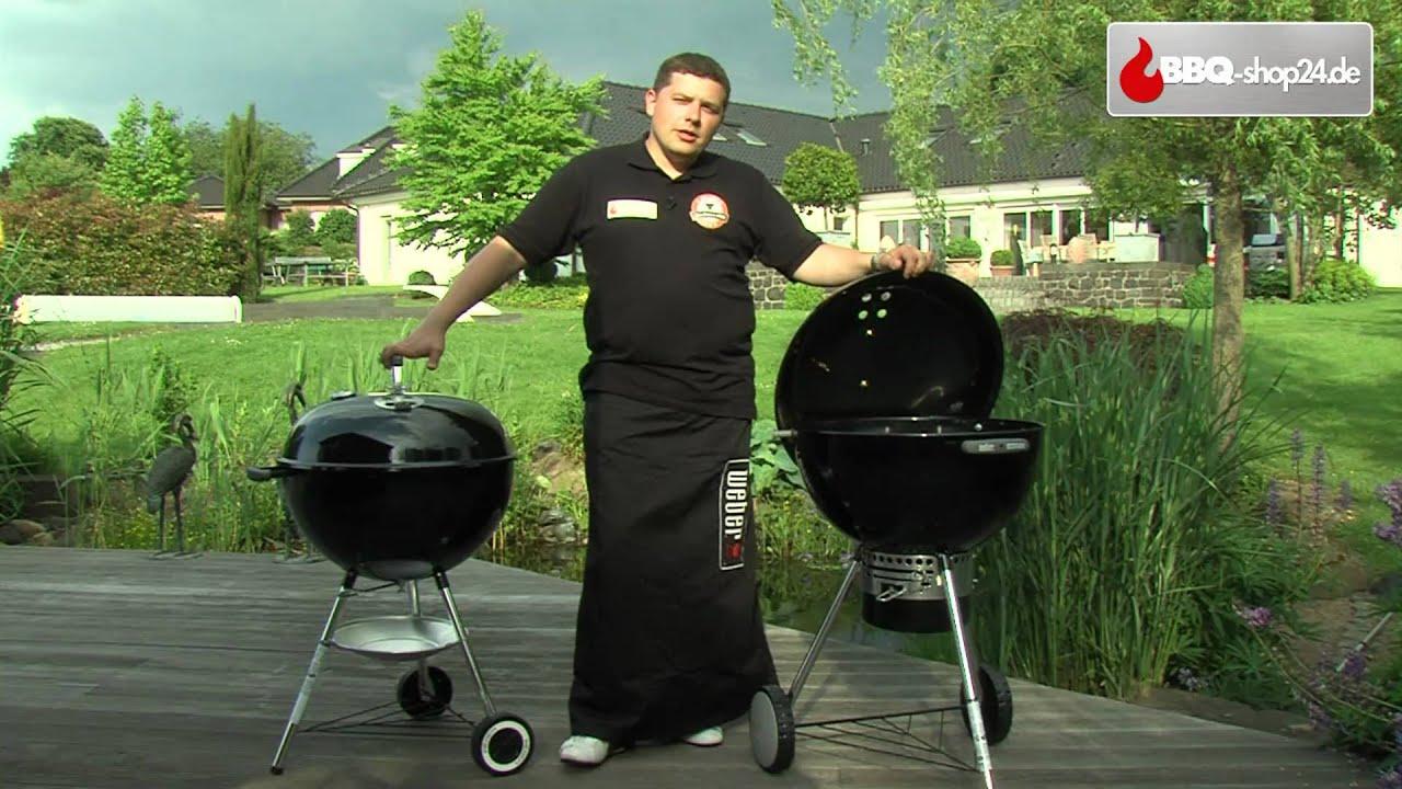 Weber Holzkohlegrill Inbetriebnahme : Weber grill one touch reinigungssystem youtube