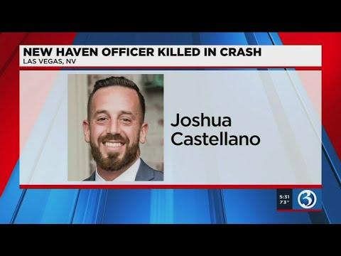 Video: Friends remember New Haven officer killed in Las Vegas crash