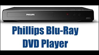 Phillips Blu-Ray DVD Player