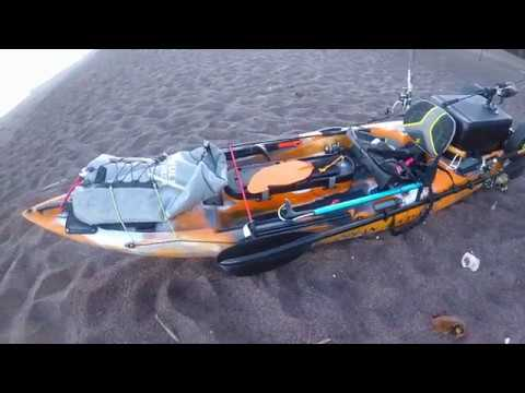 Testing Trident 11 - First time paddling - Crossing Fingers