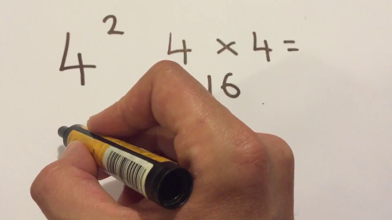 How to calculate powers: Maths Made Easy NZ - YouTube