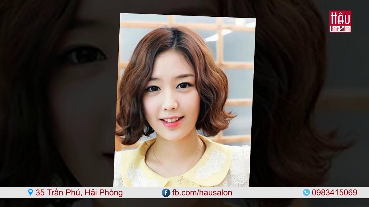 Tóc nữ đẹp   Kiểu tóc ngắn ngang vai   Hậu Salon   Tổng hợp kiến thức về tóc đẹp mới nhất