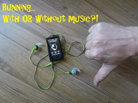 Running... with OR without music?!