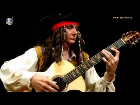 how to play pirates of the caribbean on guitar
