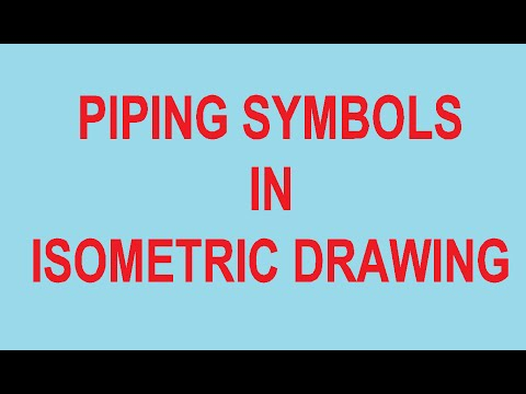 Piping Symbols In Isometric Drawing   YouTube