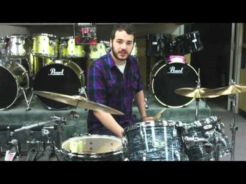 Pearl Drums And Kasza Cymbals Review - Vision Series And S Series