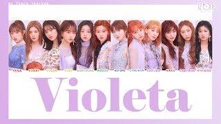 [COLOR CODED/THAISUB] IZ*ONE - Violeta #พีชซับไทย