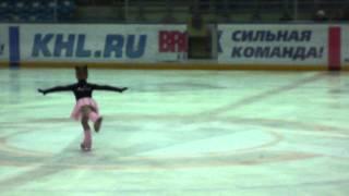 Первые соревнования Новичок 6.12.2011. Фигурное катание. 2006г.р