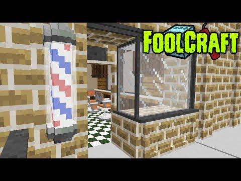 FoolCraft Modded Minecraft :: The Barber Shop! 45