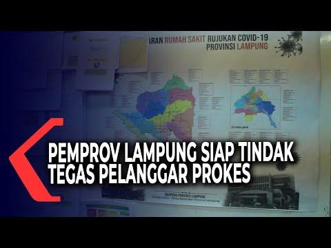8 Daerah di Lampung Masuk Zona Merah, Pemerintah Siapkan Sanksi Tegas Bagi Pelanggar Prokes