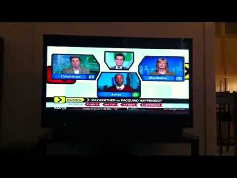 ESPN Around The Horn On Mayweather Pacquiao On May 5 2012 Fight