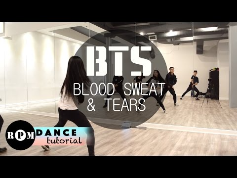 BTS Blood Sweat & Tears Dance Tutorial (Chorus)