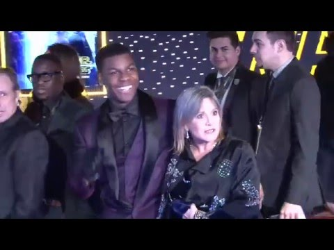 Star Wars: The Force Awakens: Red Carpet Premiere Exclusive Footage (broll)