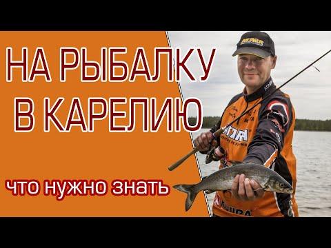 Что нужно знать, отправляясь на рыбалку в Карелию?