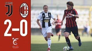 Highlights Juventus 2-0 AC Milan - Matchday 17 Women's Serie A 2018/19