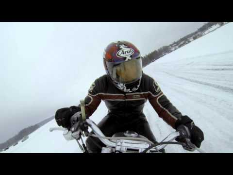 Harley Davidson Ice Track Racing Finland