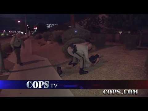 Two Guns and a Knife, Officer Carroll, COPS TV SHOW