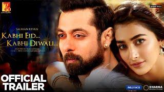 Kabhi Eid Kabhi Diwali Full Movie | Salman Khan, Pooja Hegde | Bhaijaan Movie Salman Khan
