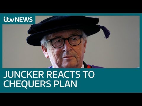 What does Jean-Claude Juncker think of Theresa May's Brexit plan? | ITV News