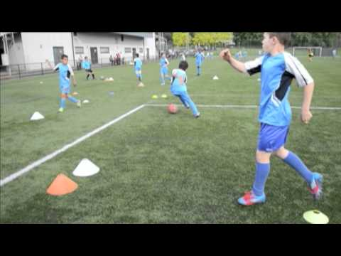 Nseth Football Academy in Brussels