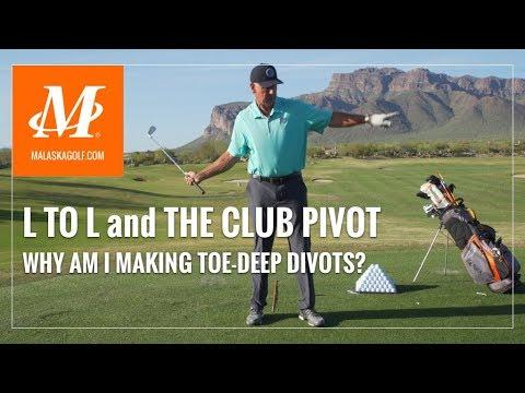 Malaska Golf // L to L and Pivoting the Club - What Makes Toe-Deep Divots? thumbnail