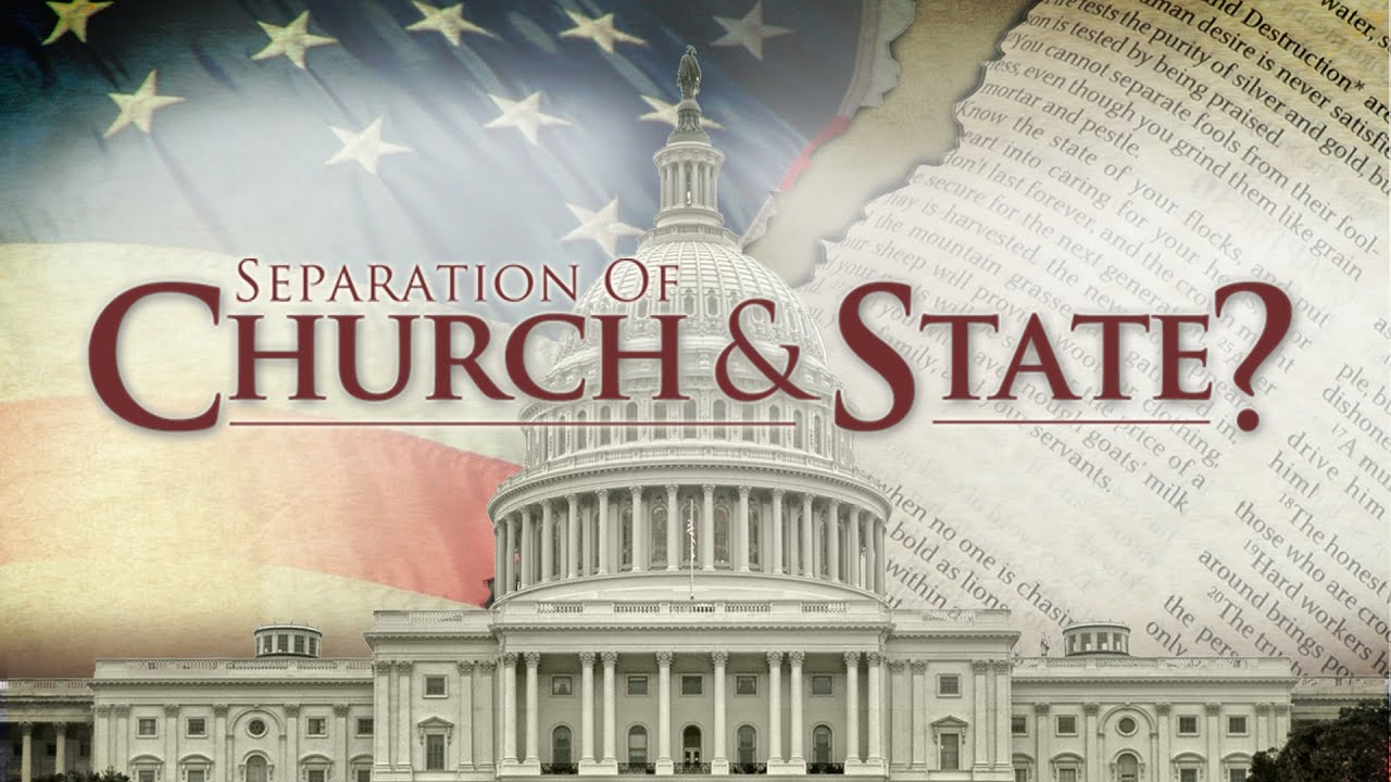 seperation of church and state The seperation of church and state is implied in the 1st amendment with congress shall make no law respecting the establishment of religion, or prohibiting the free.
