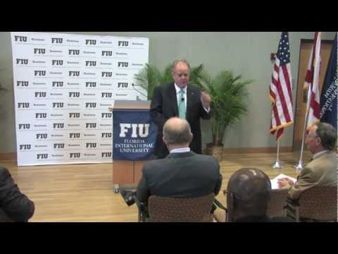 FIU Business Wertheim Lecture with Manuel D. Medina, Chairman and CEO Medina Capital Partners, Inc.