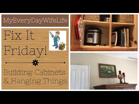 Fix It Friday! || Building IKEA Hemnes Cabinets