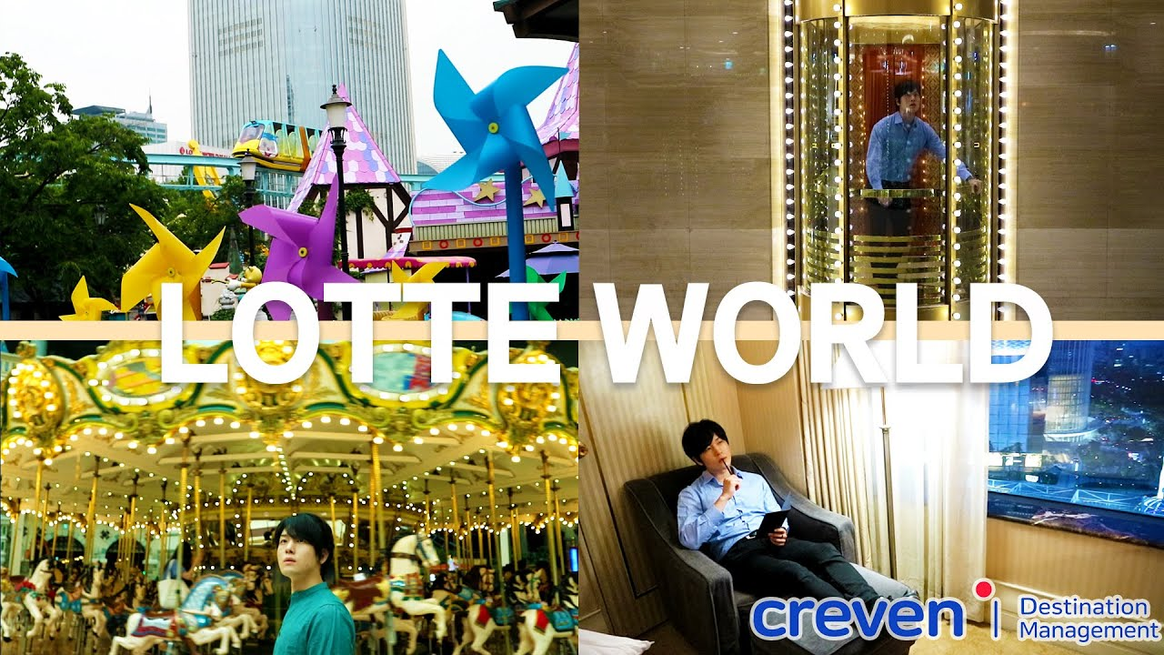 [Ep. 5] Lotte World & Lotte World Hotel | Amusement Park and Luxury Hotel All-In-One | Crevendmc