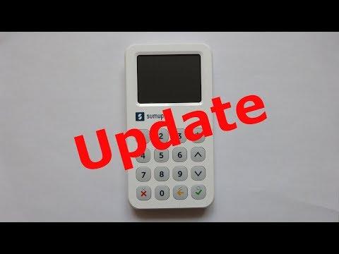 Update Sumup 3G Terminal Deutsch